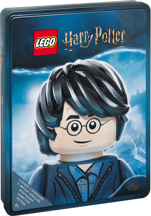 okładka Lego Harry Potter. Zestaw książek z klockami Lego Z TIN-6401, Książka | Opracowanie zbiorowe