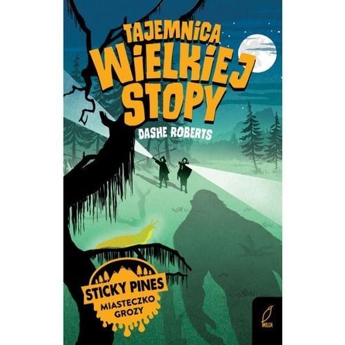 okładka Tajemnica Wielkiej Stopy Sticky Pines Miasteczko grozy, Książka | Roberts Dashe