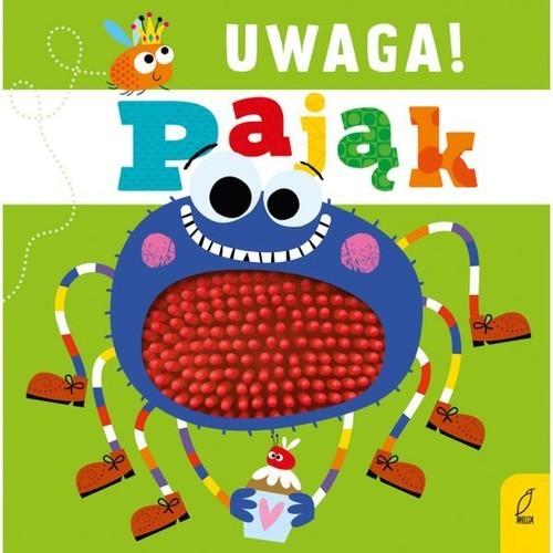 okładka Uwaga pająk!, Książka |
