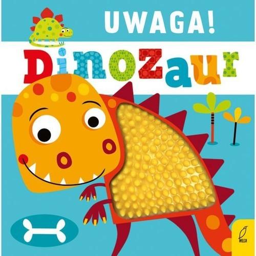 okładka Uwaga dinozaur!, Książka |