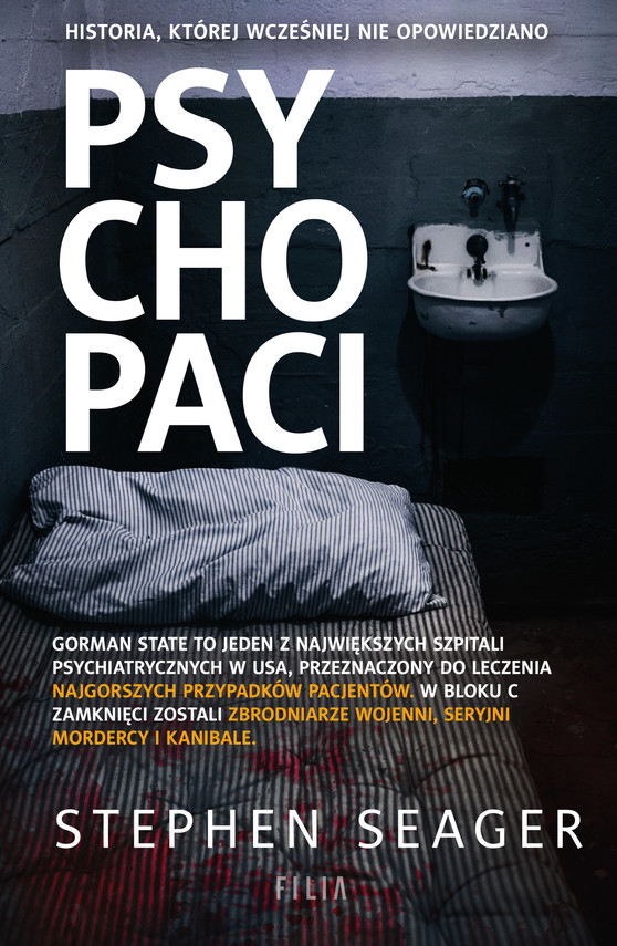 okładka Psychopaci, Ebook | Seager Stephen