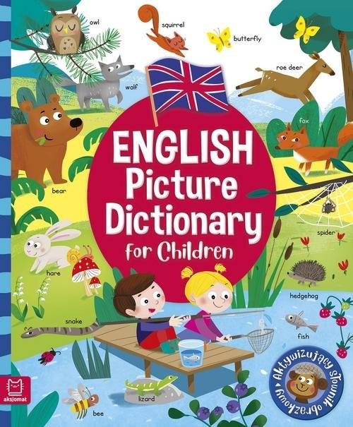 okładka English Picture Dictionary for Children mk. Aktywizujący słownik obrazkowy. Oprawa miękka, Książka | Łanocha Katarzyna