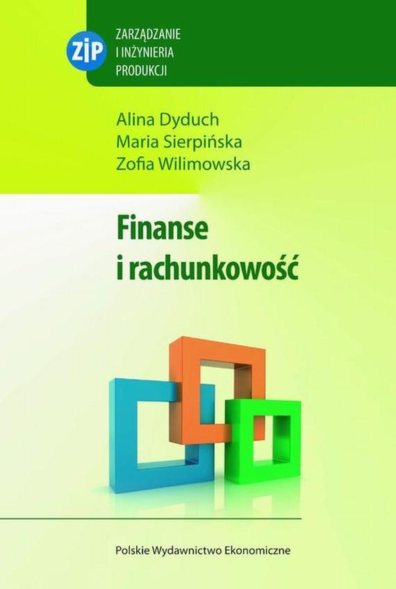 okładka Finanse i rachunkowość, Ebook | Maria  Sierpińska, Alina  Dyduch, Zofia  Wilmowska