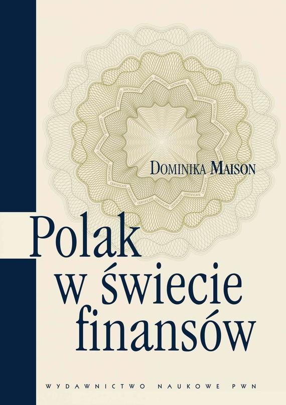 okładka Polak w świecie finansówebook   epub, mobi   Dominika Maison