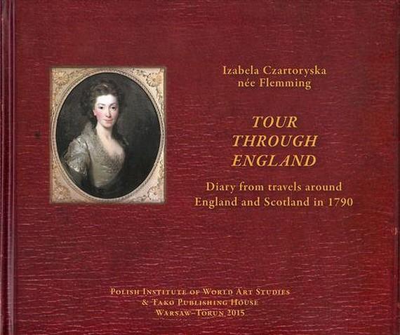 okładka Tour through Englandebook   pdf   Agnieszka Whelan