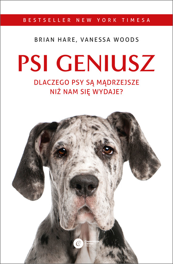 okładka Psi geniusz. Dlaczego psy są mądrzejsze niż nam się wydaje?ebook | epub, mobi | Brian Hare, Vanessa Woods