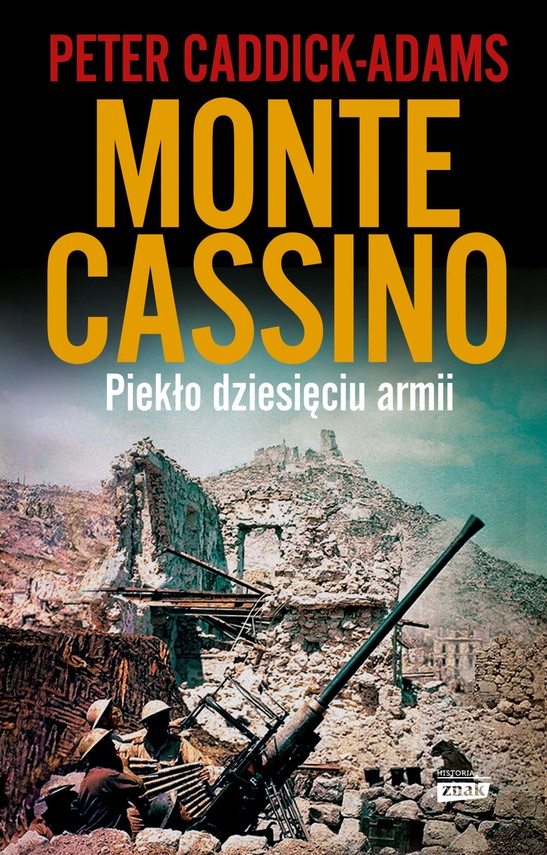 okładka Monte Cassinoebook | epub, mobi | Peter Caddick-Adams