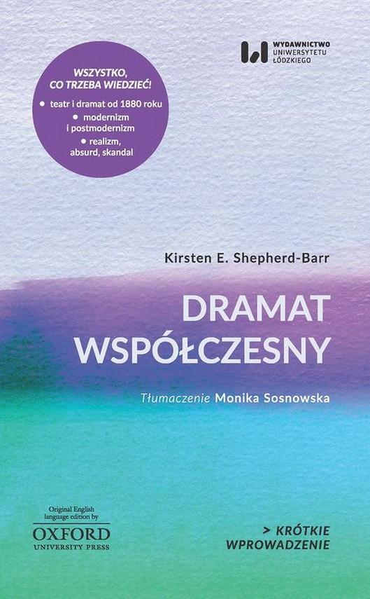 okładka Dramat współczesny, Ebook   Kirsten E. Shepherd-Barr