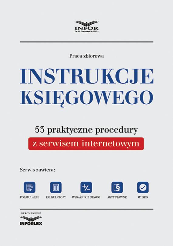 okładka Instrukcje księgowego. 53 praktyczne proceduryebook   pdf   INFOR PL S.A.