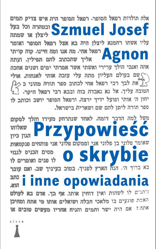 okładka Przypowieść o skrybie i inne opowiadania, Ebook   Szmuel Josef Agnon
