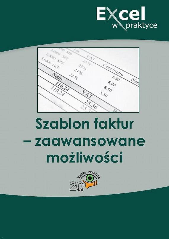 okładka Szablon faktur – zaawansowane możliwości, Ebook | Praca zbiorowa