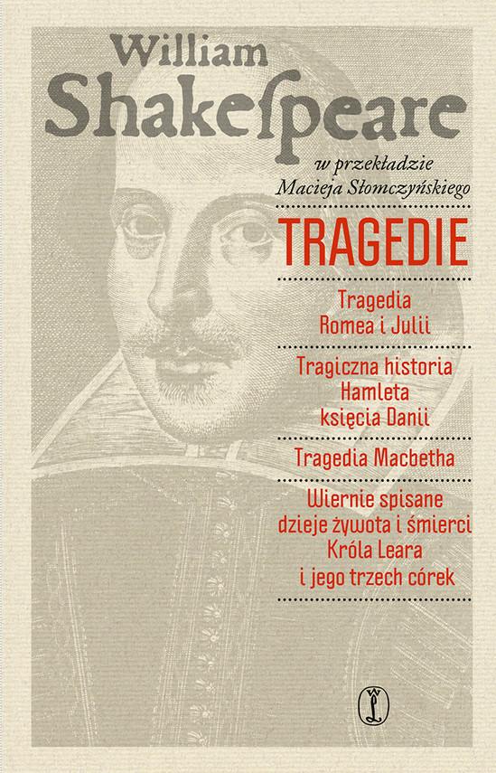 okładka Tragedieebook   epub, mobi   Wiliam Shakespeare