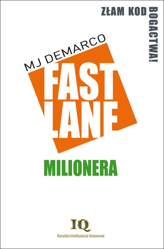 okładka Fastlane milionera, Ebook | MJ  DeMarco