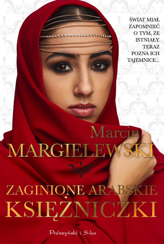 okładka Zaginione arabskie księżniczki, Ebook   Marcin Margielewski