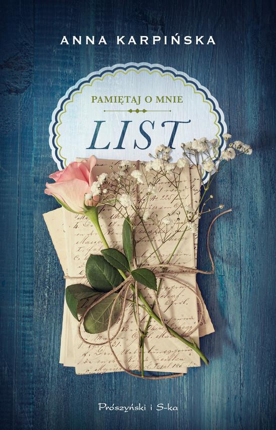 okładka List, Ebook | Anna Karpińska