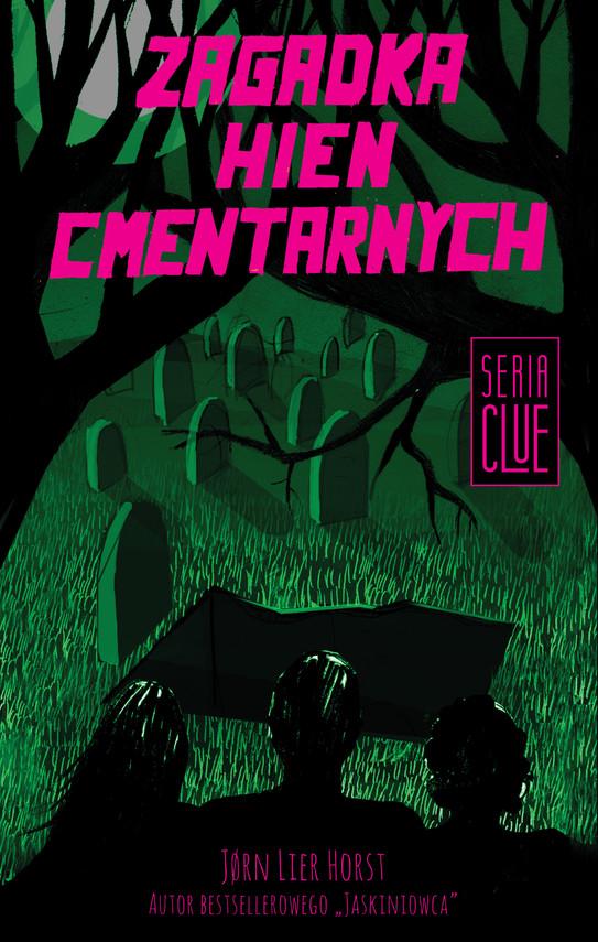 okładka CLUE (Tom 4). Zagadka hien cmentarnychebook | epub, mobi | Jorn  Lier Horst