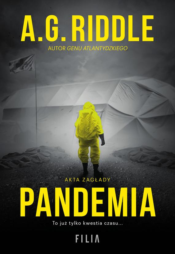 okładka Pandemia, Ebook | A.G. Riddle
