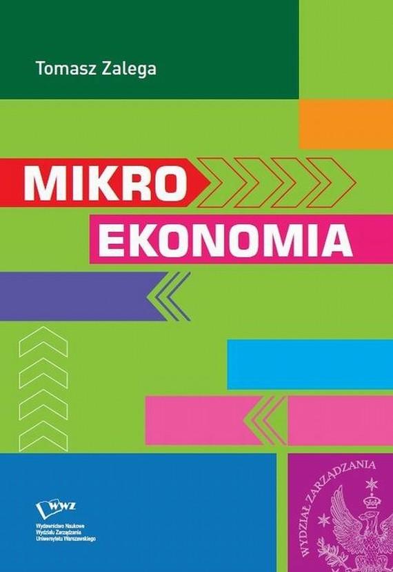 okładka Mikroekonomia, Ebook | Tomasz  Zalega