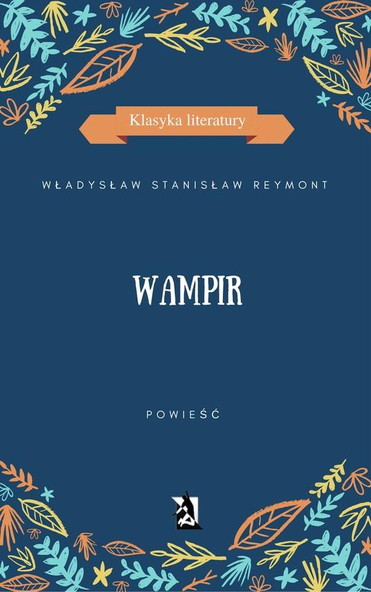 okładka Wampirebook | epub, mobi | Władysław Stanisław  Reymont