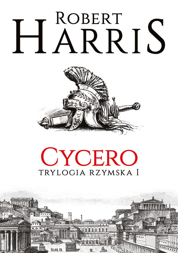okładka Cycero. Trylogia rzymska Iebook | epub, mobi | Robert Harris