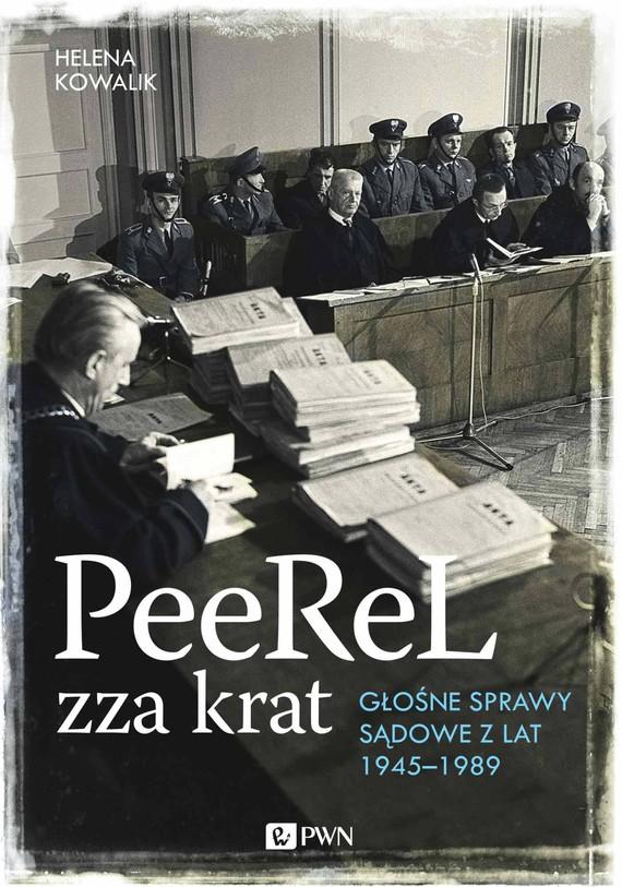 okładka PeeReL zza kratebook   epub, mobi   Helena Kowalik
