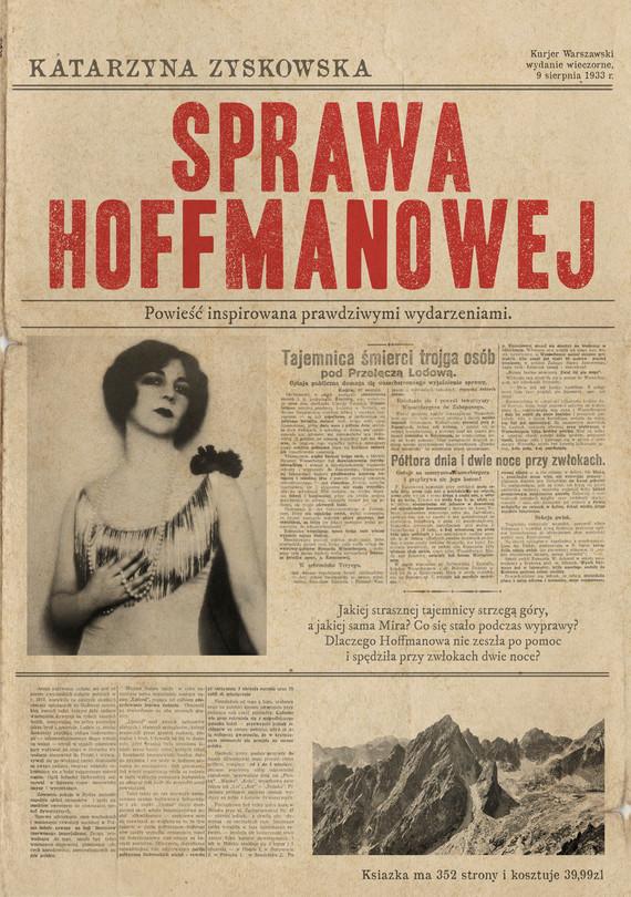 okładka Sprawa Hoffmanowejebook | epub, mobi | Katarzyna Zyskowska-Ignaciak