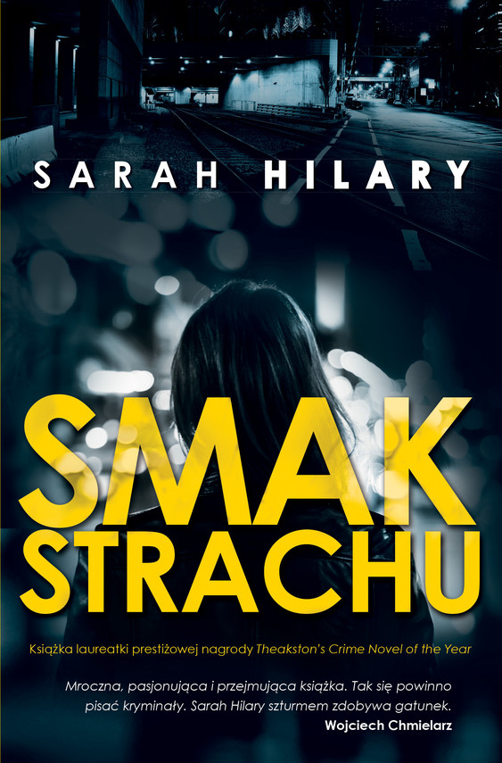okładka Smak strachu, Ebook | Sarah  Hilary