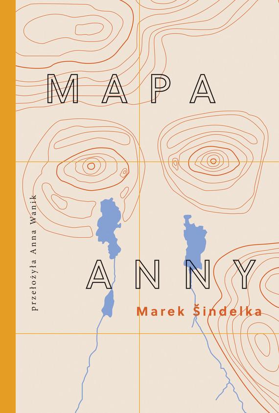 okładka Mapa Anny, Ebook   Marek  Šindelka