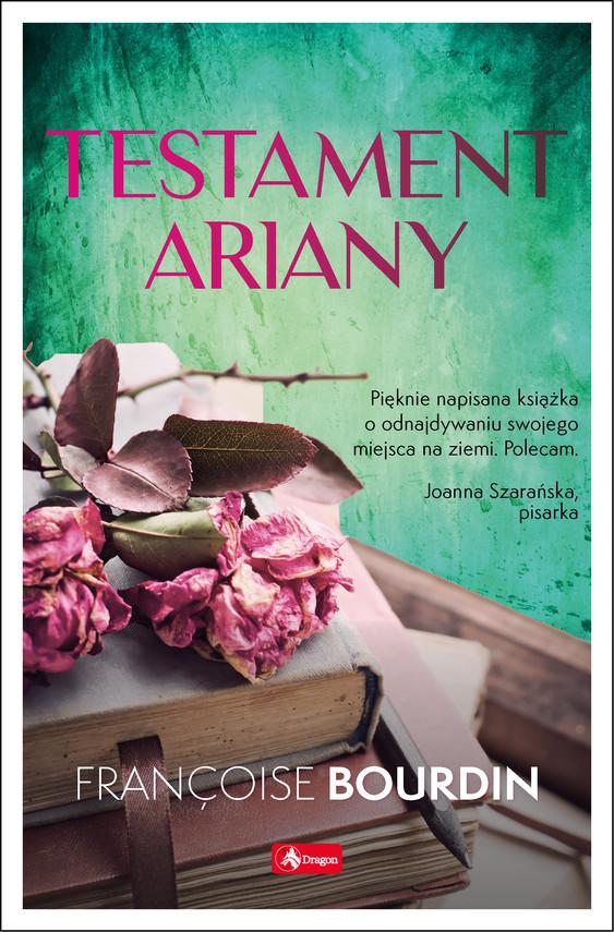 okładka Testament Arianyebook | epub, mobi | Bourdin Francoise
