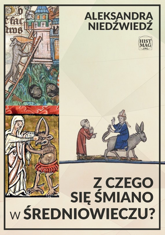 okładka Z czego się śmiano w średniowieczu?, Ebook | Aleksandra Niedźwiedź