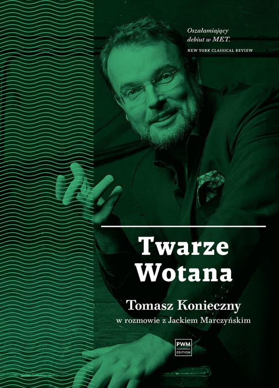 okładka Twarze Wotana, Ebook | Jacek Marczyński