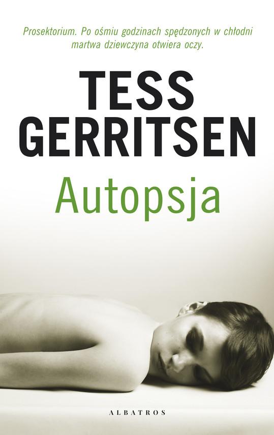 okładka Autopsjaebook | epub, mobi | Tess Gerritsen
