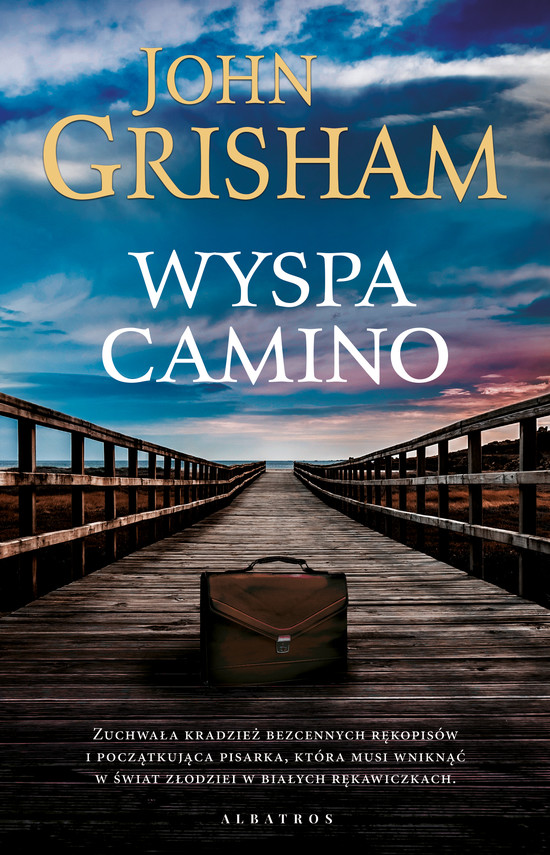 okładka WYSPA CAMINOebook | epub, mobi | John  Grisham