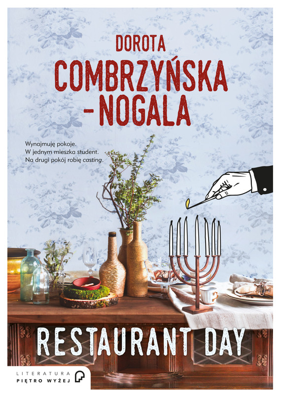 okładka Restaurant dayebook | epub, mobi | Dorota Combrzyńska-Nogala