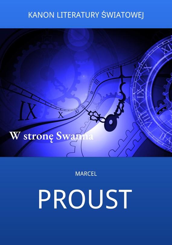 okładka W stronę Swannaebook   epub, mobi   Marcel Proust