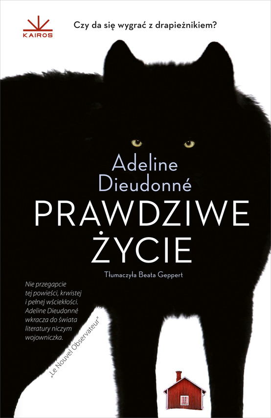 okładka Prawdziwe życieebook | epub, mobi | Adeline  Dieudonné