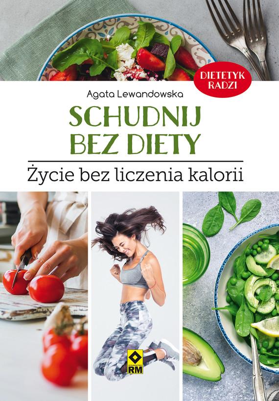 okładka Schudnij bez diety, Ebook   Agata Lewandowska