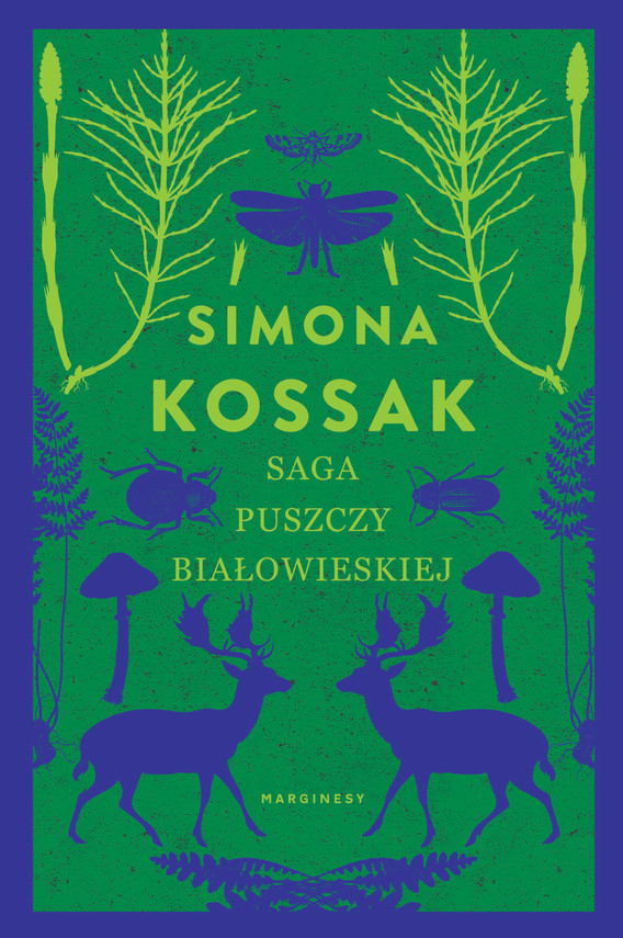 okładka Saga Puszczy Białowieskiejebook | epub, mobi | Simona Kossak