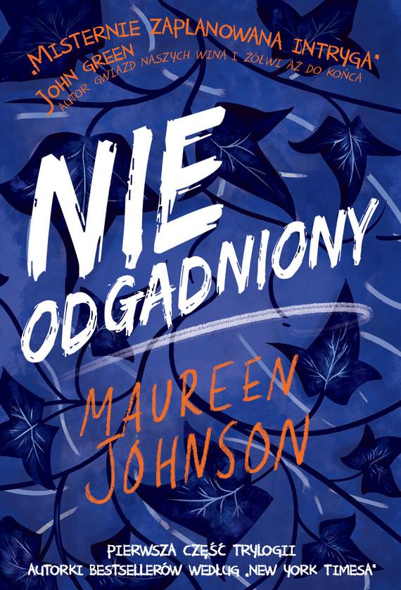 okładka Nieodgadnionyebook | epub, mobi | Johnson Maureen