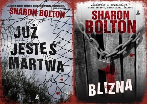 okładka Blizna / Już jesteś martwa Pakiet, Książka   Sharon Bolton