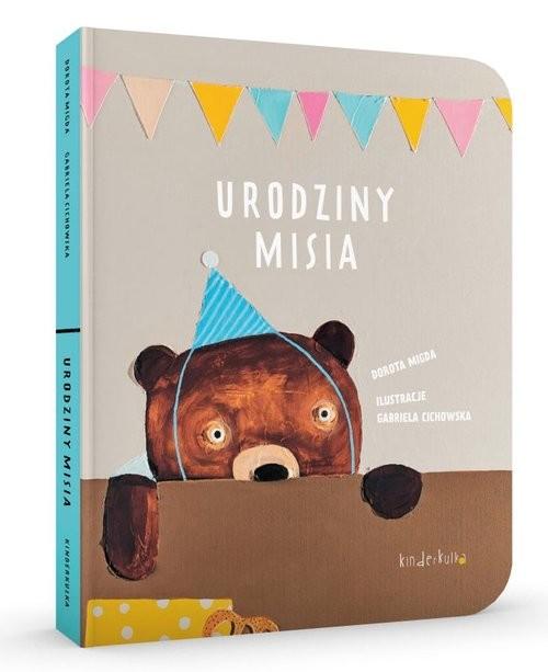 okładka Urodziny Misia, Książka | Dorota Migda, Gabriela Cichiwska