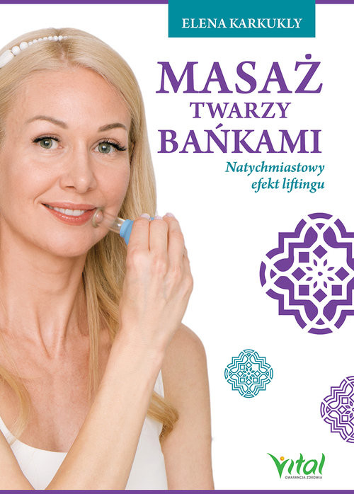 okładka Masaż twarzy bańkami, Książka | Karkukli Elena