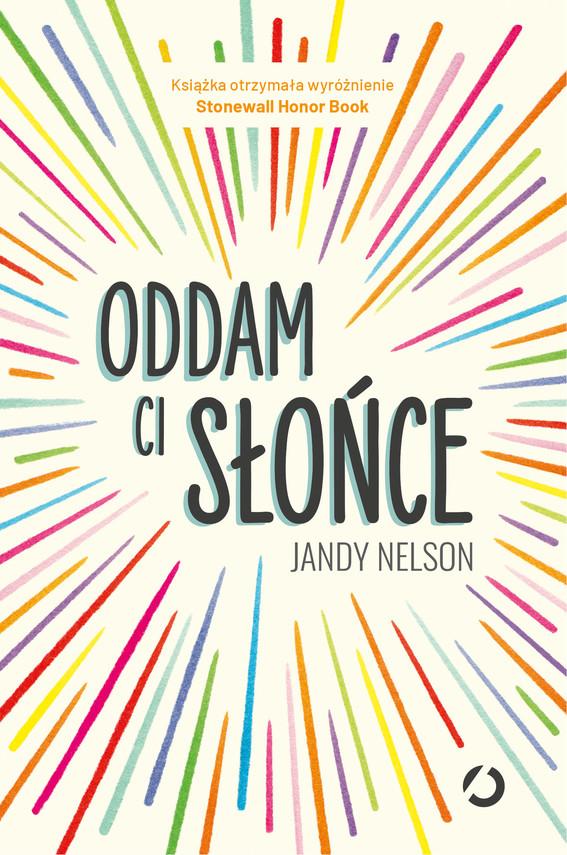 okładka Oddam ci słońce, Ebook   Jandy Nelson