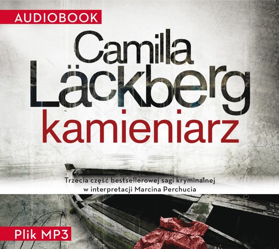 okładka Kamieniarz, Audiobook   Camilla Läckberg