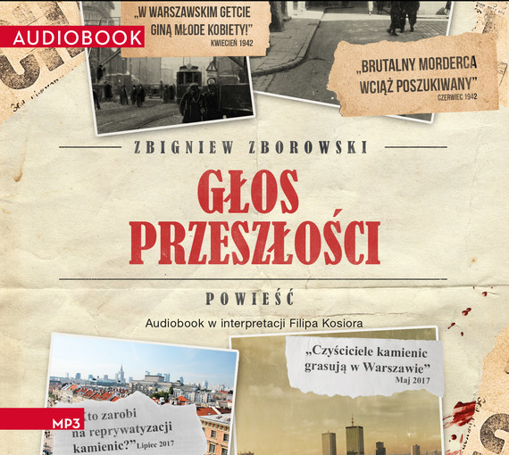okładka Głos przeszłościaudiobook | MP3 | Zbigniew Zborowski
