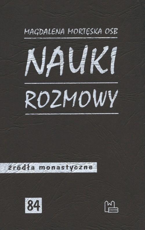okładka Nauki, rozmowy, Książka | Mortęska Magdalena
