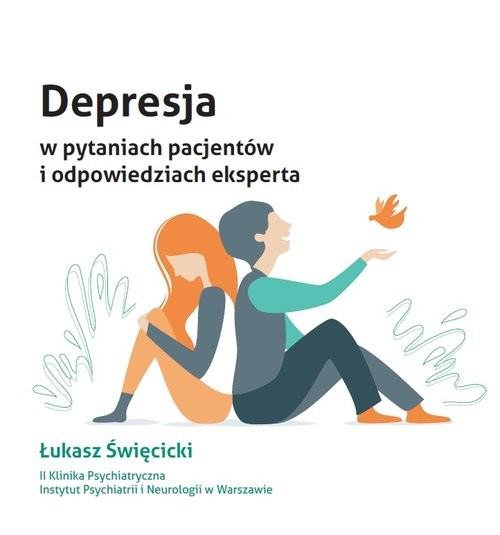 okładka Depresja w pytaniach pacjentów i odpowiedziach eksperta / Item Publishing, Książka | Święcicki Łukasz