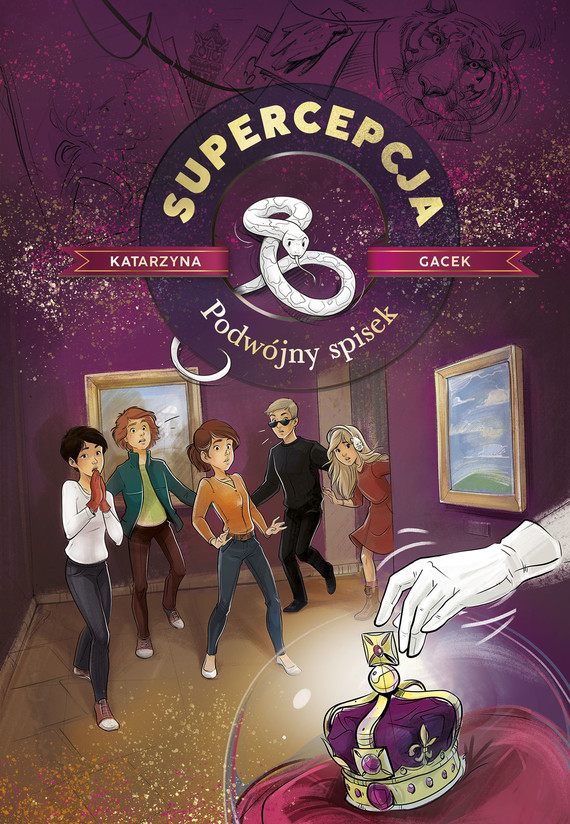 okładka Supercepcja. Podwójny spisek (wyd. 2020)ebook | epub, mobi | Gacek Katarzyna