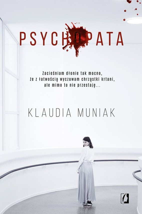 okładka Psychopata, Książka | Klaudia Muniak