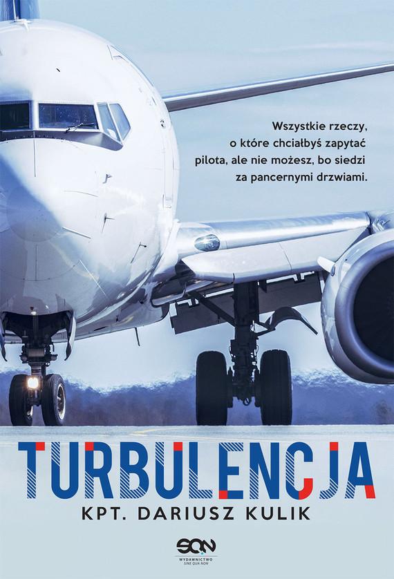 okładka Turbulencja, Książka | Kulik Dariusz